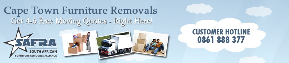 Furniture Removals Cape Town City Centre | Get 4-6 Moving Quotes